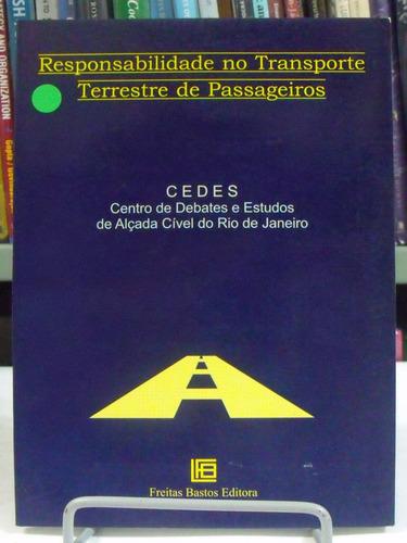 livro responsabilidade no transporte terreste de passageiros