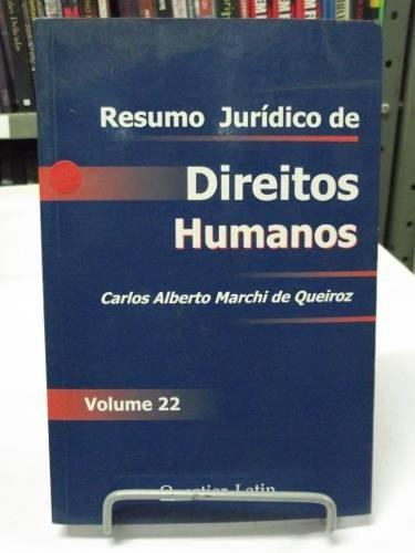 livro - resumo jurídico de direitos humanos - volume 22