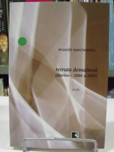livro - retrato desnatural - evando nascimento