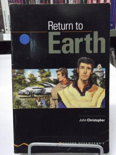livro - return to earth - john christopher