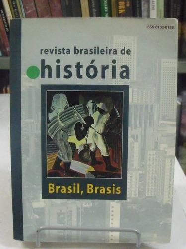 livro - revista brasileira de história - brasil, brasis