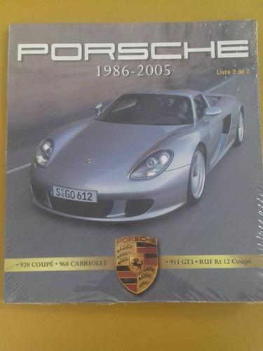 livro revista porsche numero 2 1986 a 2005 coupe 911 gt todo