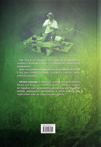 livro rituais com ervas 7ª ed.  adriano camargo - promoção