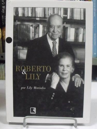 livro - roberto & lily - lily marinho
