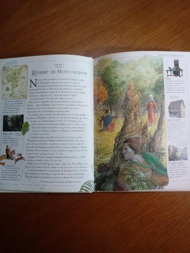 livro robin hood neil philip ilustrado capa dura .obc store