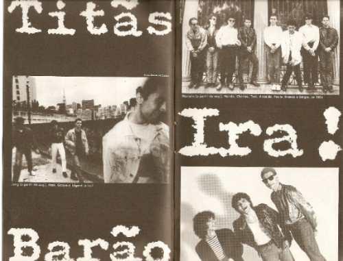 livro rock dos 80 - folha de são paulo