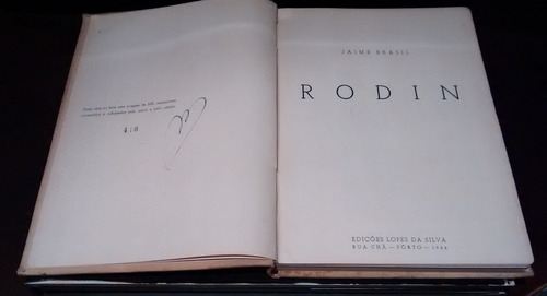 livro rodin - jaime brasil.