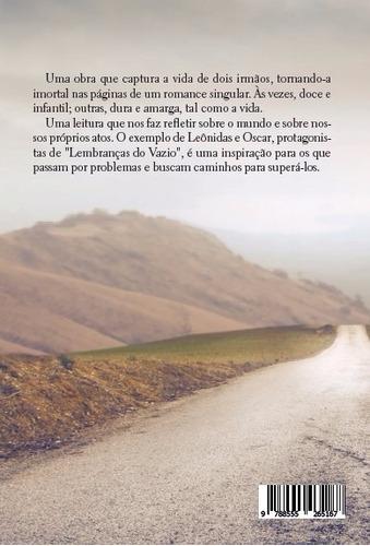 livro (romance) -   lembranças do vazio