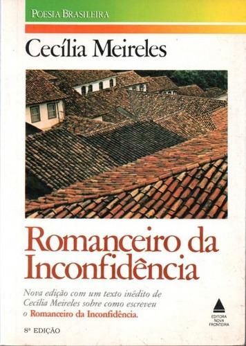 livro romanceiro da inconfidência cecília meireles
