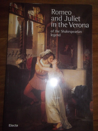 livro romeo and juliet in the verona / of the shakespearian