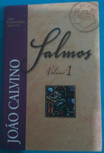 livro salmos volume 1 joão calvino