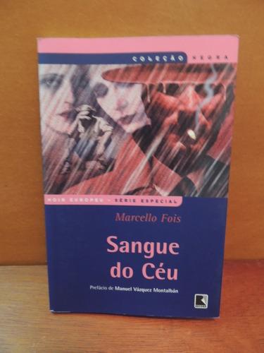 livro sangue do céu marcello fois