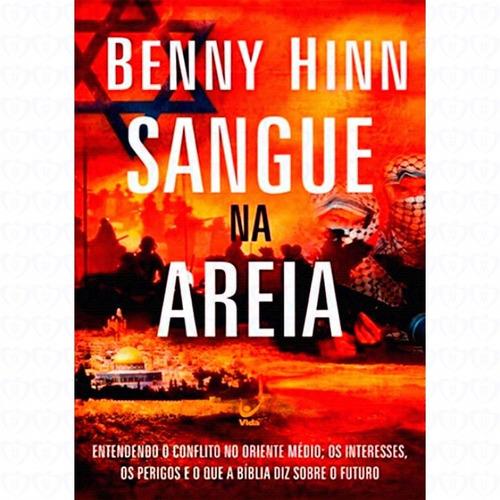 livro sangue na areia / benny hinn