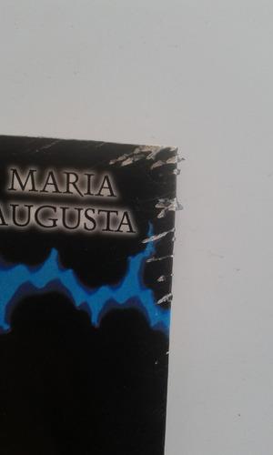 livro - sangue na pedra - maria augusta
