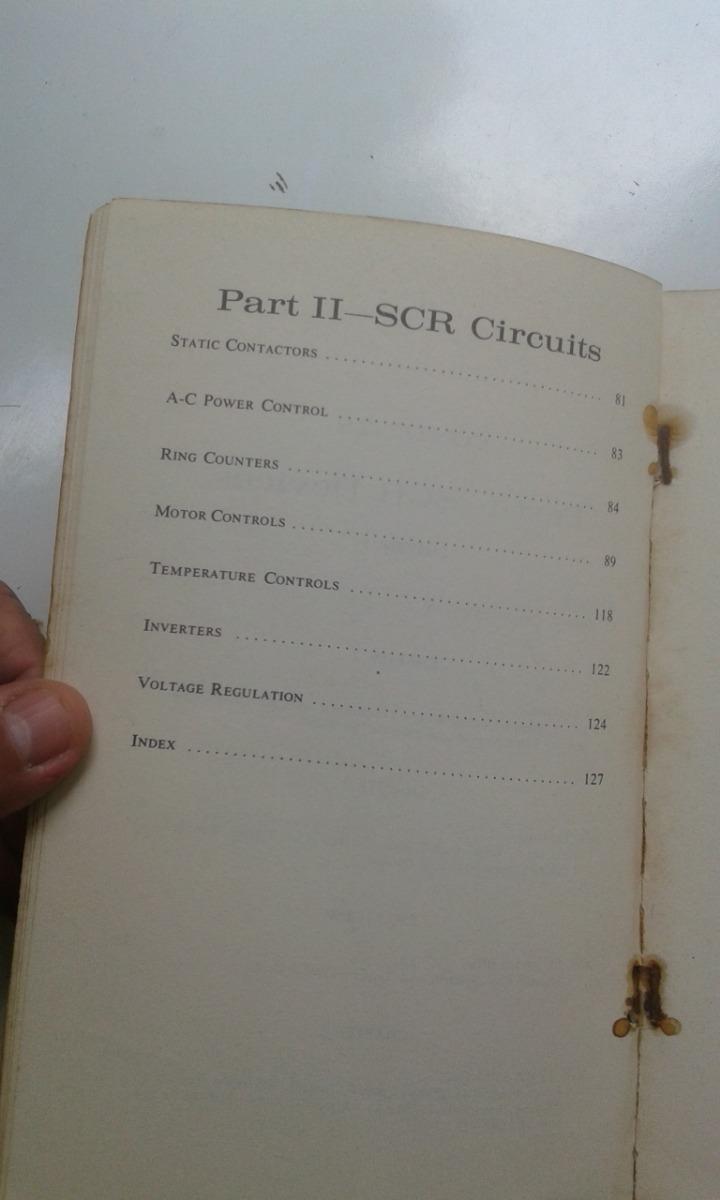 Livro Scr Silicon Controlled Rectifiers Allan Lytel R 2500 Rectifier Circuits Carregando Zoom