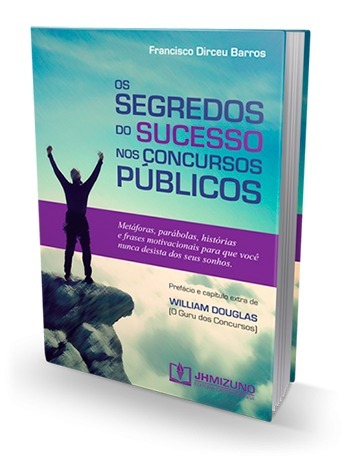 Livro Segredos Do Sucesso Nos Concursos Públicos