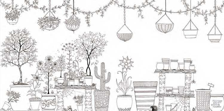 50 Free Download Garden Coloring Book Printable Pdf Download Zip