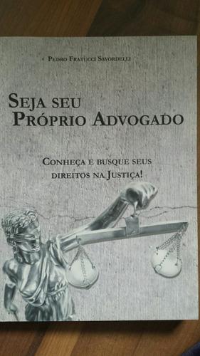 livro: seja seu próprio advogado