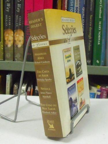 livro - seleções de livros 4 títulos- vide descrição