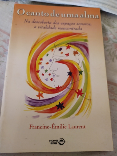 livro semi-novo o canto de uma alma
