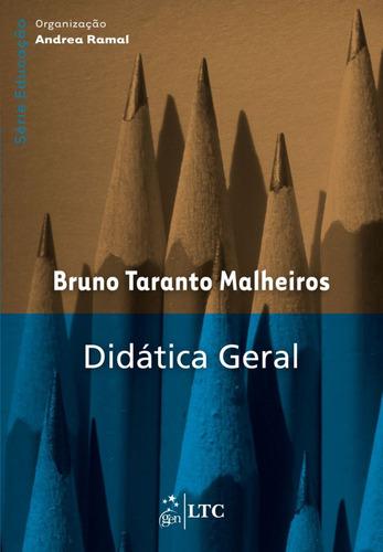 livro - série educação - didática geral
