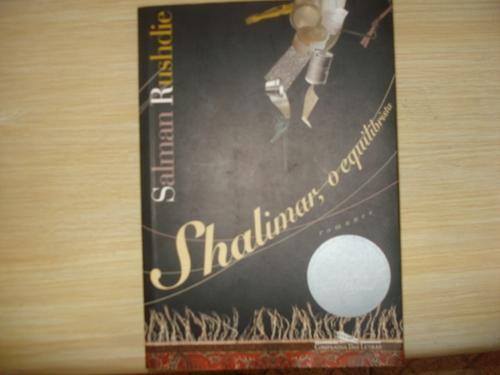 livro - shalimar, o equilibrista - salman rushdie