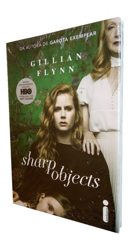 livro - sharp objects - gillian flynn - série hbo