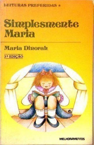 livro simplesmente maria maria dinorah
