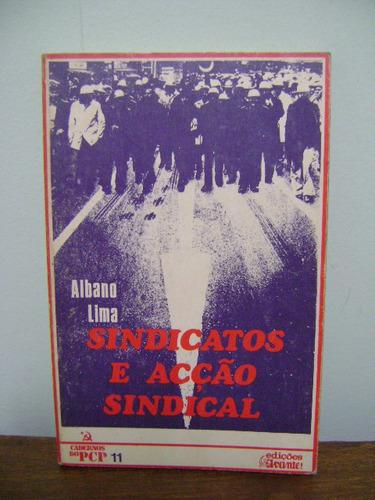 livro sindicatos e acção ação sindical albano lima
