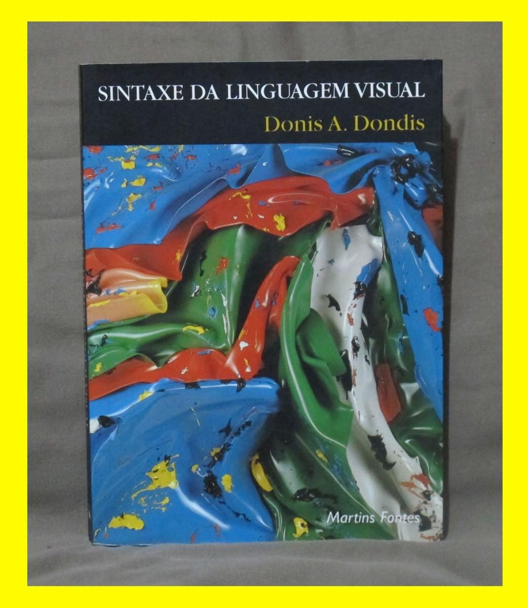 livro sintaxe da linguagem visual donis a dondis