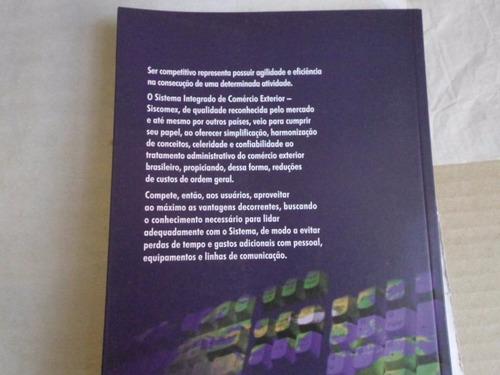 livro siscomex exportação cortinas lopez edição 2004 132 pag