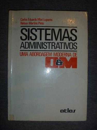 livro - sistemas administrativos - 1986