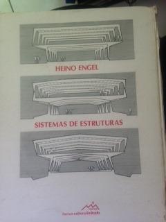 livro sistemas de estruturas - heino engel - raridade