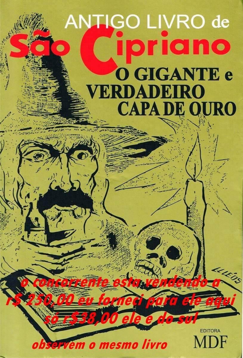 livro são cipriano c ouro r 75 00 em mercado livre