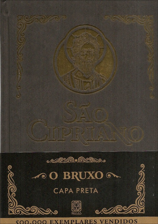 livro da capa preta de sao cipriano