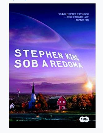livro sob a redoma - stephen king o rei do terror - lacrado