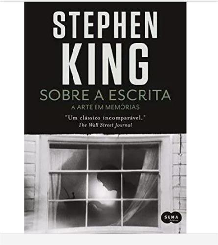 livro sobre a escrita  stephen king - lacrado