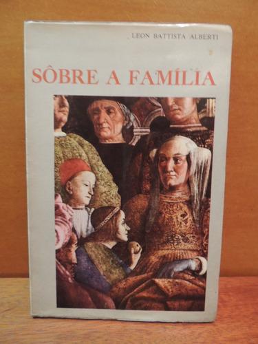 livro sobre a família leon battista alberti