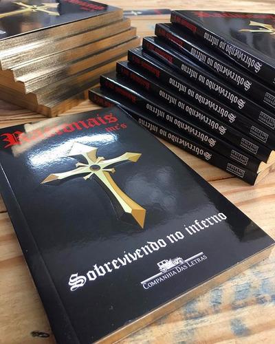 livro sobrevivendo no inferno - racionais mc´s (a bíblia)