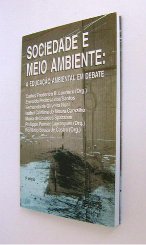 livro: sociedade e meio ambiente: educação ambiental em deba