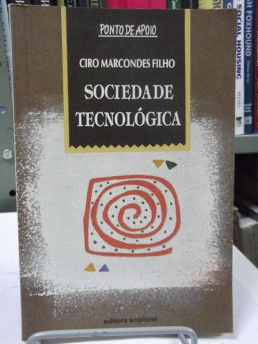 livro - sociedade tecnológica - ciro marcondes filho