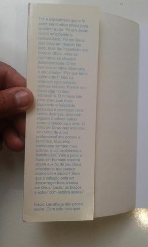 livro - sofrimento e paz - inácio larrañaga