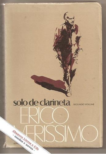 livro solo de clarineta vol. 2 - erico veríssimo