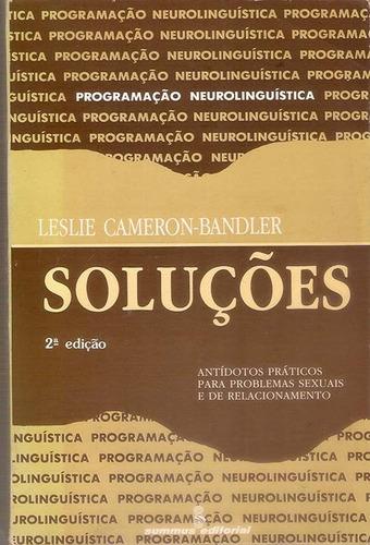 livro soluções neurolinguística problemas sexuais l cameron.