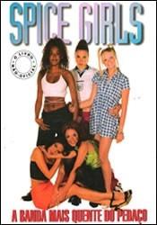livro spice girls a banda mais quente do pedaço