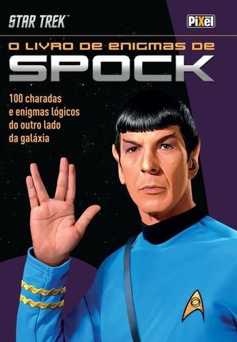 livro star trek - o livro de enigmas do spock pixel