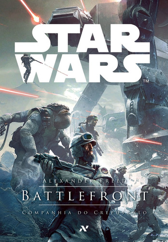 livro star wars battlefront companhia do crepusculo ed aleph