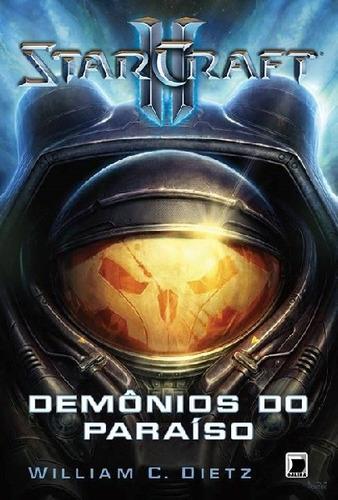 livro starcraft ii - demônios do paraíso #