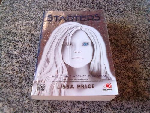 livro   starters   de lissa price  ano 2012
