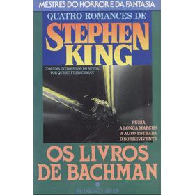 Livro Stephen King - Os Livros De Bachman